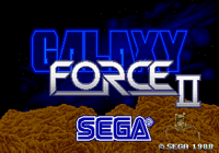 Video Game: Galaxy Force II