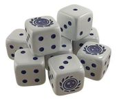 Board Game Accessory: Star Trek: Ascendancy – Federation Dice Pack