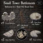 RPG Item: Small Tower Battlements Pack