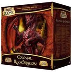 Board Game: D&D Miniatures Icons: Colossal Red Dragon