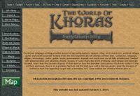 RPG Item: The World of Khoras
