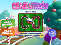 Video Game: Candy Train