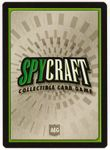 Board Game: Spycraft: Collectible Card Game