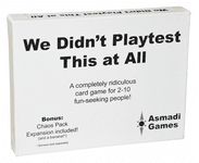 Board Game: We Didn't Playtest This at All with Chaos Pack Expansion