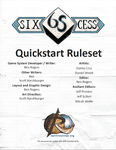 RPG Item: Sixcess Quick Start Rule-set