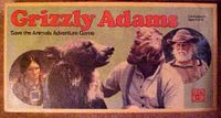 Board Game: Grizzly Adams Save the Animals Adventure Game