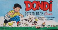 Board Game: Dondi Potato Race Game