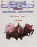 RPG Item: MC08: Monstrous Compendium: Outer Planes Appendix