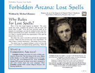 RPG Item: Lost Spells