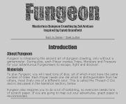 RPG Item: Fungeon