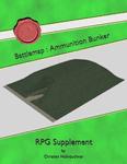 RPG Item: Battlemap: Ammunition Bunker