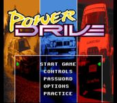 Video Game: Power Drive