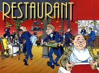 Board Game: Restaurant