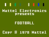 Video Game: NFL Football