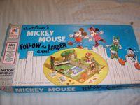 Board Game: Mickey Mouse Follow the Leader Game