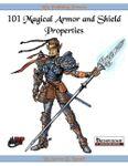 RPG Item: 101 Magical Armor and Shield Properties
