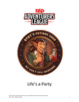 RPG Item: CCC-ELF-001: Life's a Party