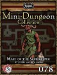 RPG Item: Mini-Dungeon Collection 078: Maze of the Skullkeeper (5E)