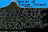 Video Game: Secret of Easter Island