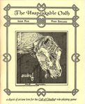 Issue: The Unspeakable Oath (Issue 5 - 1992)