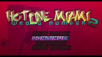 Video Game: Hotline Miami 2: Wrong Number