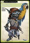 "Board Game: Pathfinder Adventure Card Game: Skull & Shackles – ""Ranzak"" Promo Character Card Set"