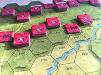 Board Game: Line of Fire #13: Blood on the Alma