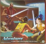 Board Game: Adventurer: A Game of Man to Man Brawling in the Far Future