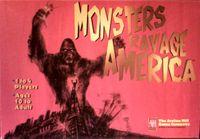Board Game: Monsters Ravage America