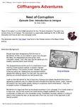 RPG Item: Nest of Corruption