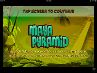 Video Game: Maya Pyramid