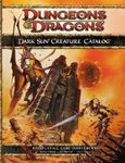 RPG Item: Dark Sun Creature Catalog