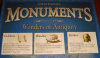 Board Game: Monuments: Heroes, Traders, and Science