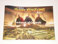 Board Game Accessory: Three Kingdoms Redux: Generals' Illustration Booklet