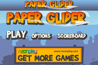 Video Game: Paper Glider