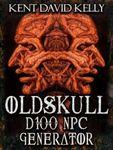 RPG Item: Oldskull D100 NPC Generator