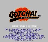 Video Game: Gotcha! The Sport!