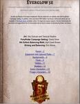 RPG Item: Everglow 5E