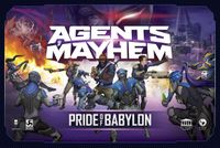 Board Game: Agents of Mayhem: Pride of Babylon