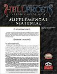 RPG Item: Hellfrost Region Guide #52: Supplemental Material
