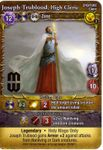 Board Game: Mage Wars: Joseph Trublood, High Cleric Promo Card
