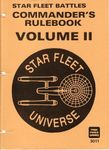 Star Fleet Battles: Commander's Rulebook Volume II