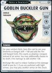 "Board Game: Pathfinder Adventure Card Game: Skull & Shackles – ""Goblin Buckler Gun"" Promo Card"