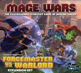 Board Game: Mage Wars Arena: Forcemaster vs Warlord Expansion Set