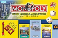 Board Game: Monopoly: Gold Coast Australia