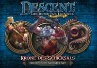 Board Game: Descent: Journeys in the Dark (Second Edition) – Crown of Destiny