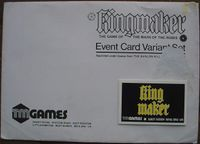 Board Game: Kingmaker Variant Event Cards