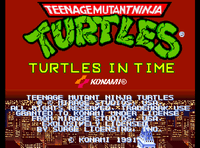 Video Game: Teenage Mutant Ninja Turtles: Turtles in Time