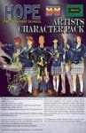 RPG Item: HPS Artists Character Pack (M&M 3E)