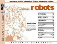 RPG Item: Archetypes: Robots